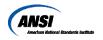 American National Standards Institute Inc.